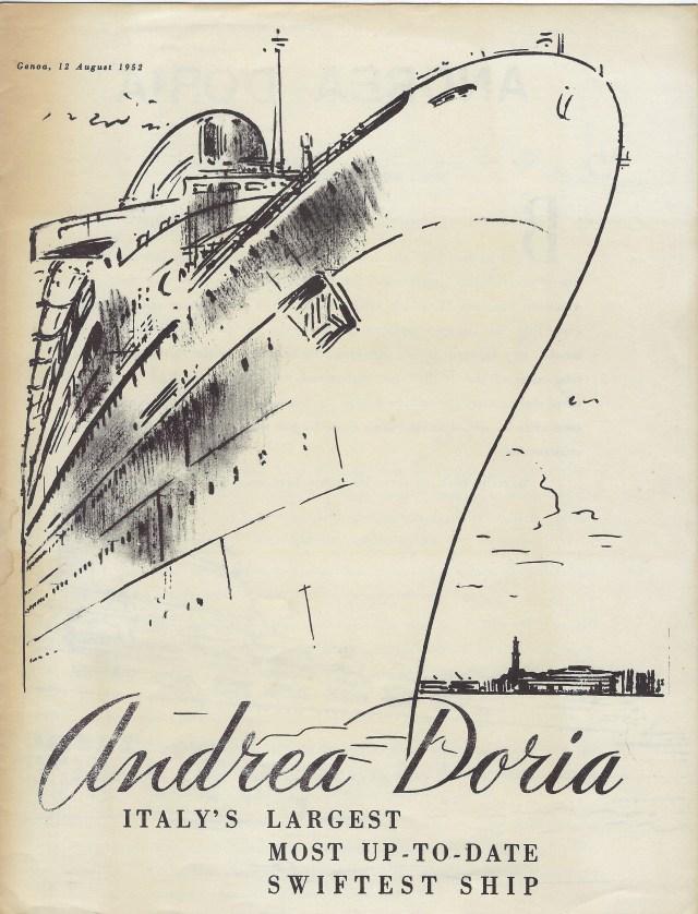 Andrea Doria Brochure 1